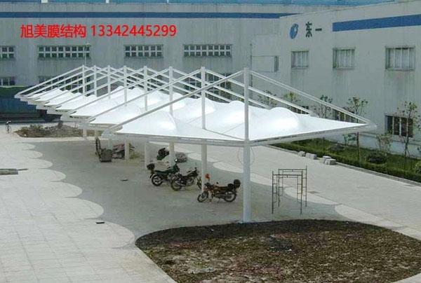 怎樣加強膜結構遮陽雨棚的防腐性能?