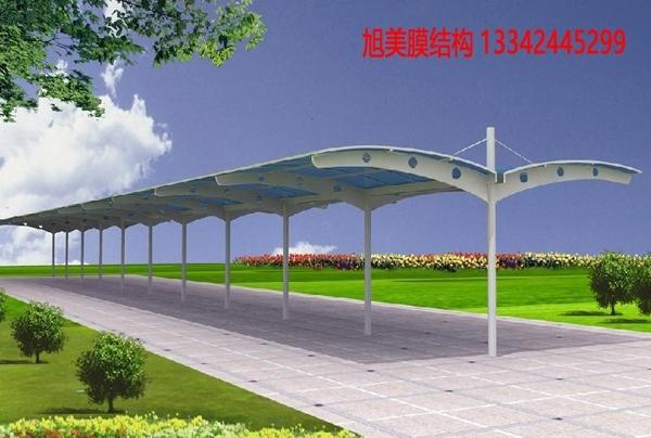 膜結構停車棚材料的力學性能